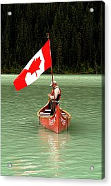 Acrylic Print featuring the photograph Canada Day... by Al Fritz