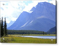Canadian Mountains Acrylic Print