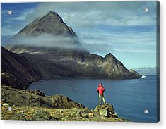 Canada, Nunavut, Baffin Island, Mount Herodier, Eclipse Sound Acrylic Print