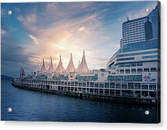 Canada Place Acrylic Print by Art Spectrum