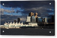 Canada Place Vancouver City Acrylic Print by Pierre Leclerc Photography