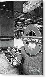 Canada Water Acrylic Print