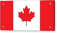 Canadian Flag Acrylic Print