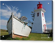 Canadian Maritimes Lighthouse Acrylic Print