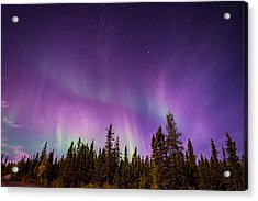 Canadian Northern Lights Acrylic Print