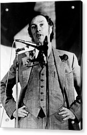 Canadian Prime Minister Pierre Trudeau Acrylic Print by Everett