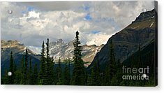 Canadian Rockies, Alta. Acrylic Print by Elfriede Fulda