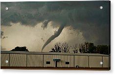 Acrylic Print featuring the photograph Canadian Tx Tornado by Ed Sweeney