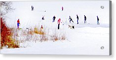 Acrylic Print featuring the photograph Canadiana by John Poon