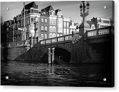 Acrylic Print featuring the photograph Canal Bridge by Scott Hovind