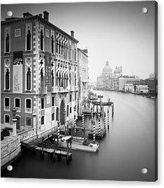 Canal Grande Study I Acrylic Print by Nina Papiorek