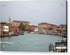 Canal Of Murano Acrylic Print