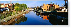 Canal, Venice, California Acrylic Print by Panoramic Images