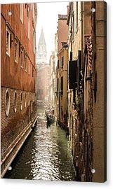 Canale Ponte De Lovo Acrylic Print