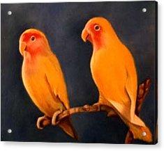 Canaries Acrylic Print