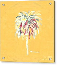 Canary Palm Tree Acrylic Print