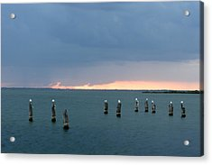 Canaveral Sunset Acrylic Print by Eric Foltz