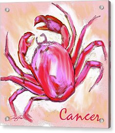 Cancer The Crab Acrylic Print
