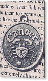 Cancer Zodiac Artwork Acrylic Print