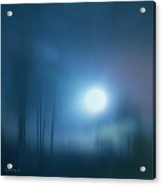 Cancerian Moon Acrylic Print by Nita Sweeney
