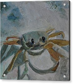 Acrylic Print featuring the painting Cancer's Are Not Crabby by Billie Colson