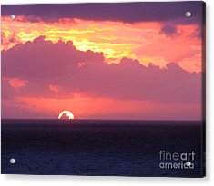 Sunrise Interrupted Acrylic Print