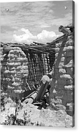 Candelaria Adobe Acrylic Print by Clyde Replogle