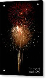 Candle Burst Acrylic Print by Norman Andrus