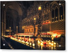 Acrylic Print featuring the photograph Candlemas - Altar by James Billings