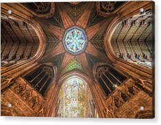Acrylic Print featuring the photograph Candlemas - Octagon by James Billings