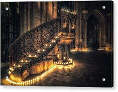 Acrylic Print featuring the photograph Candlemas - Pulpit by James Billings