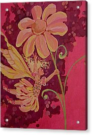 Candy 2 Acrylic Print by Jackie Rock