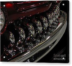 Candy Apple Bullets Acrylic Print by Peter Piatt