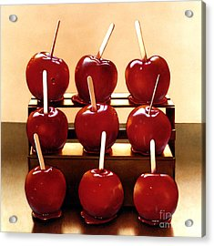 Candy Apples Acrylic Print by Larry Preston
