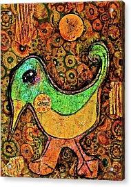 Candy Bird Acrylic Print
