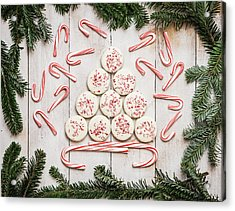 Acrylic Print featuring the photograph Candy Cane Lane by Kim Hojnacki