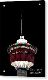 Acrylic Print featuring the photograph Candy Cane Tower by Brad Allen Fine Art