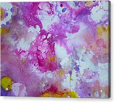 Candy Clouds Acrylic Print