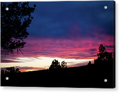 Candy-coated Clouds Acrylic Print