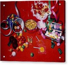 Candy Acrylic Print by Constance Drescher