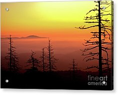 Acrylic Print featuring the photograph Candy Corn Sunrise by Douglas Stucky