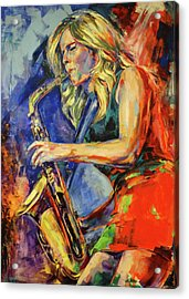 Candy Dulfer, Lily Was Here Acrylic Print