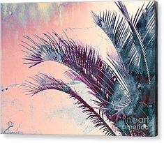 Candy Palms Acrylic Print