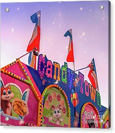 Acrylic Print featuring the photograph Candytown by Cindy Garber Iverson