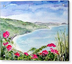 Cane Garden Bay Acrylic Print