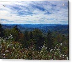 Caney Fork Overlook Acrylic Print