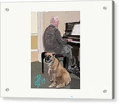 Canine Composition Acrylic Print