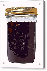 Canned Cherries Acrylic Print by Robert Bissett