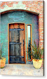 Cannery Door Acrylic Print