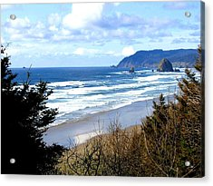 Cannon Beach Vista Acrylic Print